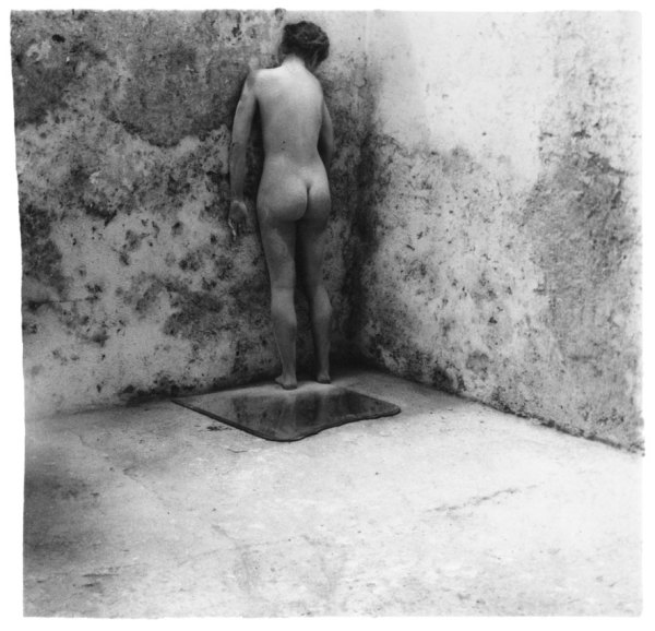 Self-Deceit #3, Rome, Italy 1978 silver gelatin Estate print, edition of 40 8.8 x 8.5 cm (image size) 44.9 x 44.3 cm (framed size)